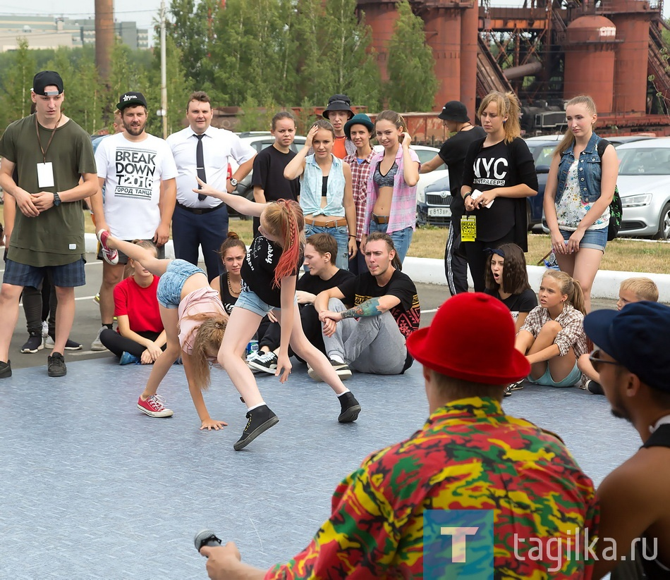 День города - 2016. «BREAK DOWN T 2016. CITY OF DANCE»